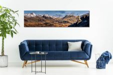 Eskdale Needle and Scafell Panorama - UltraHD Print with Aluminium Backing on Wall