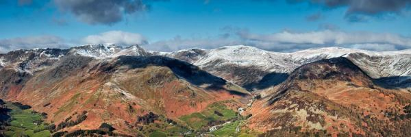 Glenridding Panorama - UltraHD Print with Aluminium Backing