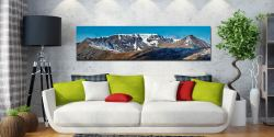 Helvellyn Snow Capped - UltraHD Print with Aluminium Backing on Wall