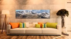 Helvellyn Mountains Panorama - UltraHD Print with Aluminium Backing on Wall