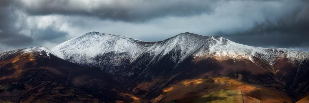Snow Capped Skiddaw - UltraHD Print