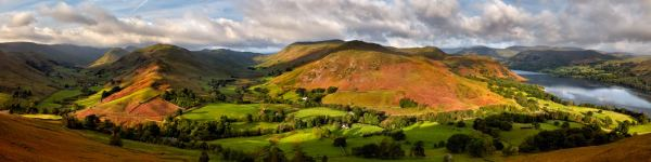 Hallin Fell Panorama - UltraHD Print with Aluminium Backing