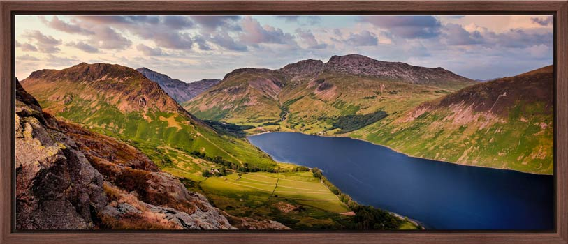 Yewbarrow and Scafell - Modern Print