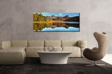 Blea Tarn Blue Skies - Canvas Print on Wall