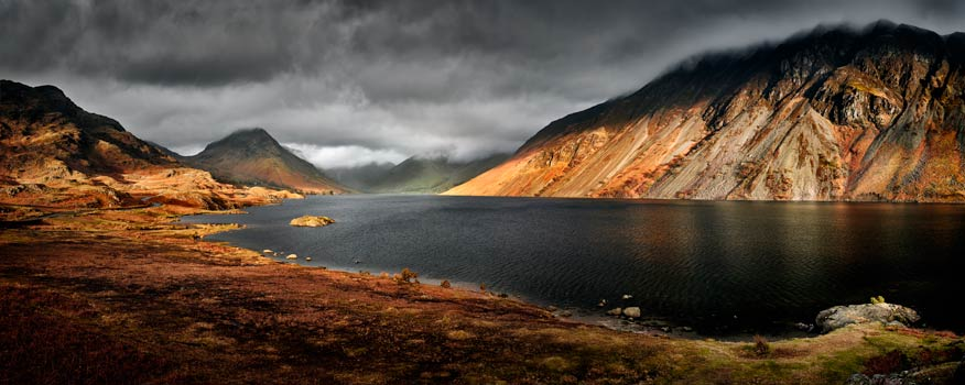 Sunlight on Wast Water - UltraHD Print with Aluminium Backing