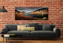 Sunlight on Wast Water - UltraHD Print with Aluminium Backing on Wall