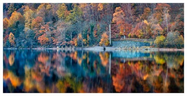 Autumn Ashness Derwent Water - Lake District Print