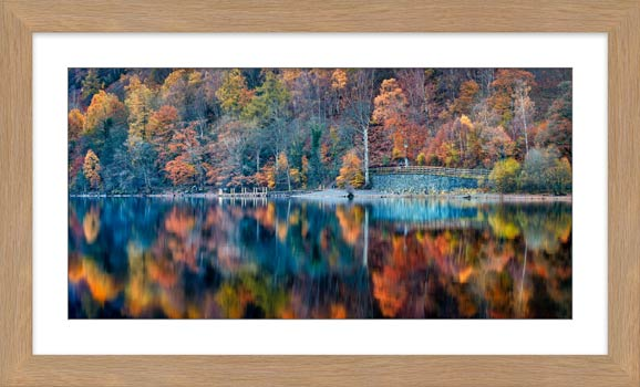Autumn Ashness Derwent Water - Framed Print