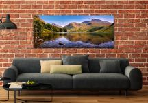 Sca Fell in Summer - UltraHD Print with Aluminium Backing on Wall