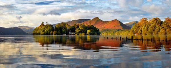 Derwent Isle and Cat Bells - UltraHD Print with Aluminium Backing