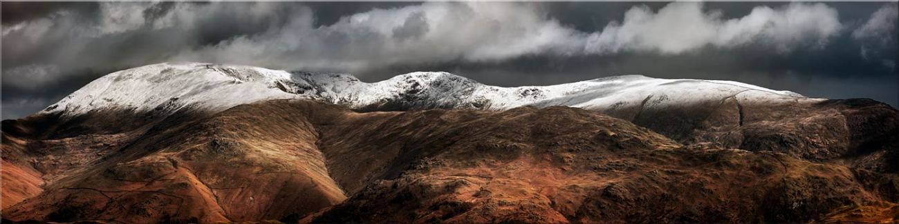 Fairfield Winter Panorama - Canvas Prints