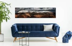 Fairfield Winter Panorama - Lake District Canvas on Wall