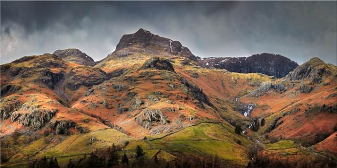 Harrison Stickle Pavey Ark - Canvas Print