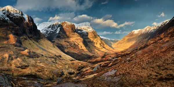 Mountains of Glencoe - UltraHD Print with Aluminium Backing