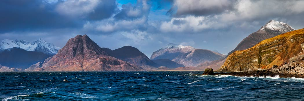 Cuillins From Elgol - UltraHD Print with Aluminium Backing