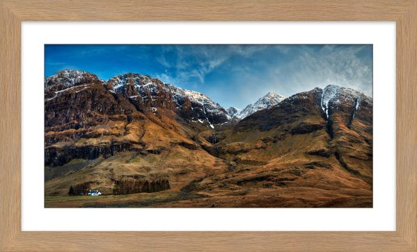 Bidean Nam Bian Glen Coe - Framed Print with Mount