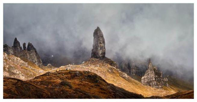 Misty Old Man Storr - Isle of Skye Print
