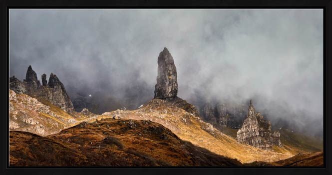 Misty Old Man Storr - Modern Print