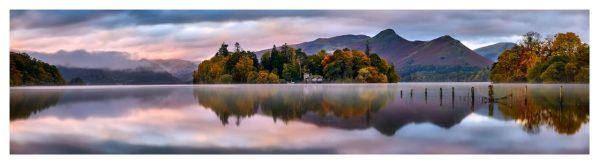 Derwent Isle Dawn Light - Lake DIstrict Print