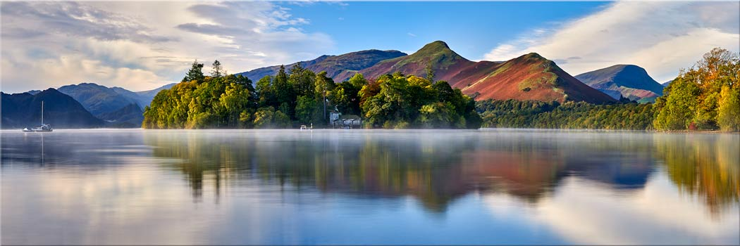 Derwent Water Serenity - Canvas Print