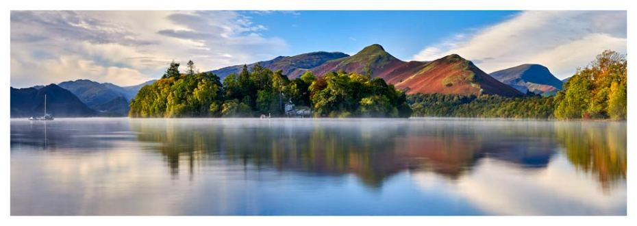 Derwent Water Serenity - Lake District Print
