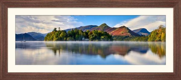 Derwent Water Serenity - Framed Print with Mount