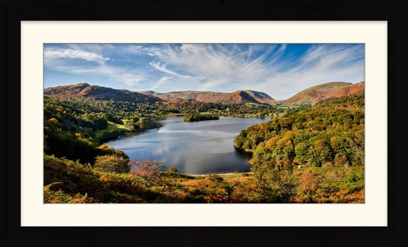 Early Autumn Grasmere - Framed Print with Mount