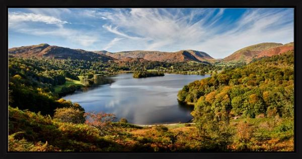 Early Autumn Grasmere - Modern Print