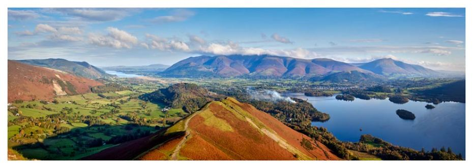 Newlands Cat Bells Derwent Water - Lake District Print