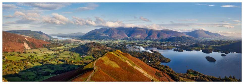 Newlands Cat Bells Derwent Water - Lake District Print