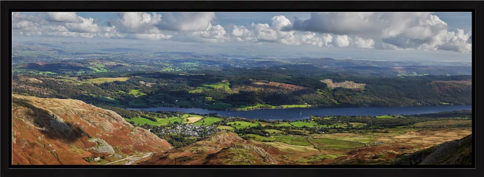 Coniston Panorama - Modern Print