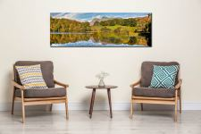 Loughrigg Tarn in Late Summer - Canvas Print on wall