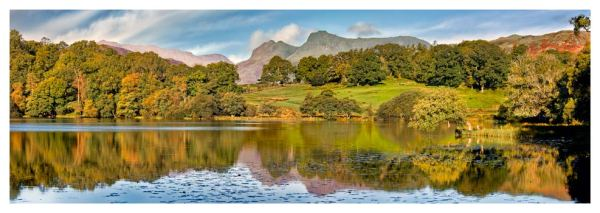 Loughrigg Tarn in Late Summer - Prints of the Lake District