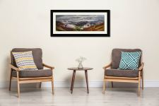 Great Langdale and Lingmoor Fell - Framed Print with Mount on Wall