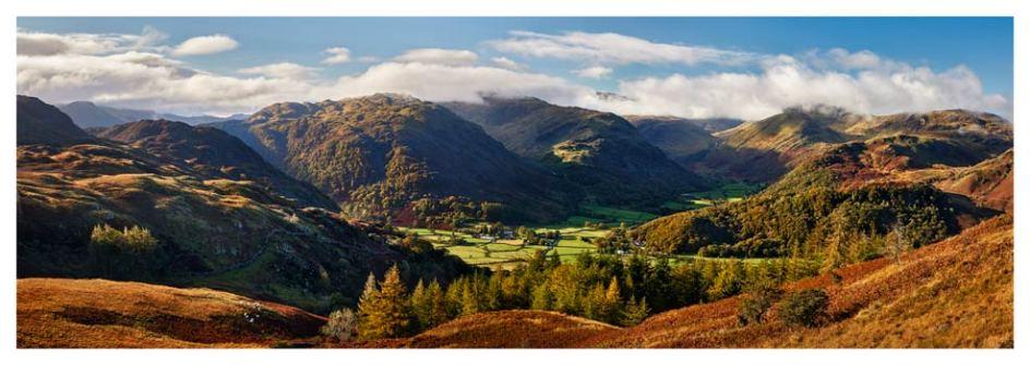 Beautiful Borrowdale - Lake District Print
