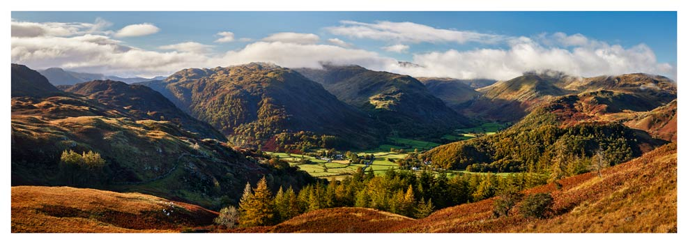 Beautiful Borrowdale - Lake District Print