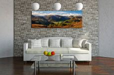 Early autumn in the beautiful Borrowdale Valley - Print Aluminium Backing With Acrylic Glazing on Wall