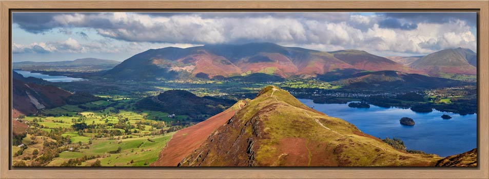 Cat Bells Panorama - Modern Print