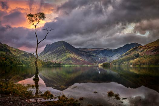 Buttermere Sunrise - Lake District Canvas