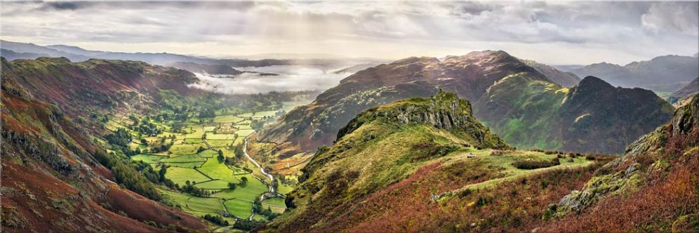 Glorious Great Langdale - Canvas Print
