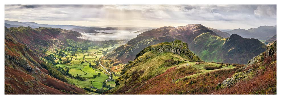 Glorious Great Langdale - Lake District Print