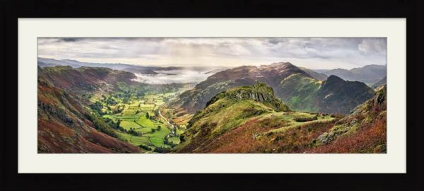 Glorious Great Langdale - Framed Print with Mount