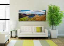 Buttermere Village Crummock Water - Canvas Print on Wall