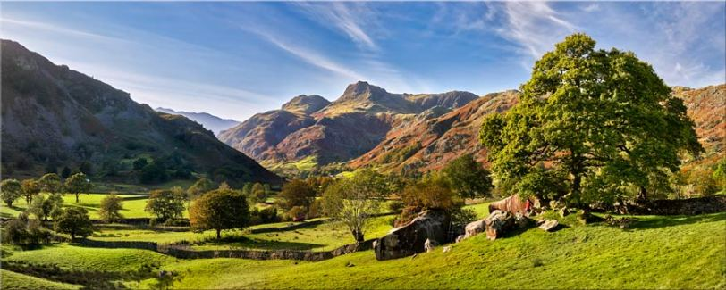 Summer in Great Langdale - Lake District Canvas