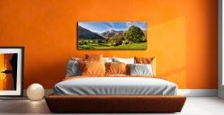 Summer in Great Langdale - Canvas Print on Wall