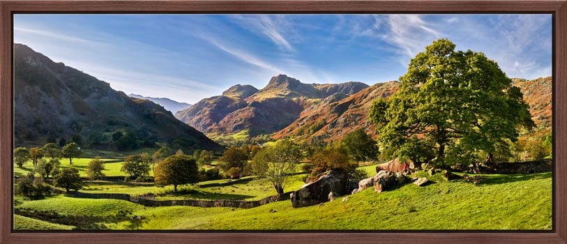 Summer in Great Langdale - Modern Print