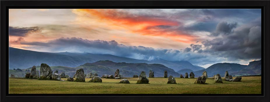 Epic Skies Over Castlerigg - Modern Print