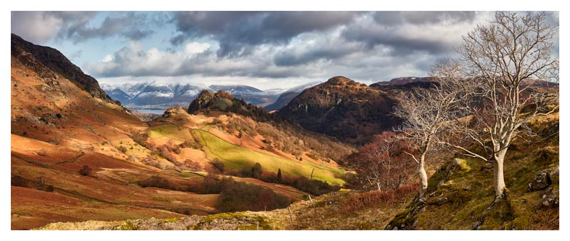 Kings How and Castle Crag - Lake District Print