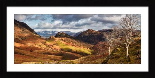 Kings How and Castle Crag - Framed Print with Mount