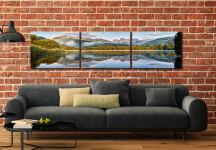 Elterwater Tranquility - 3 Panel Canvas on Wall